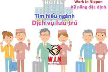Ngành dịch vụ lưu trú- kỹ năng đặc định- work in nippon